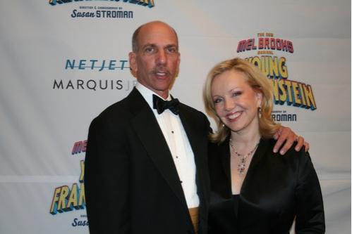 Producer Robert F.X. Sillerman and Susan Stroman (Director, Choreographer)