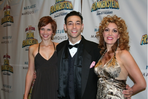 Ensemble cast members: Jennifer Lee Crowl, Matthew Labanca and Christina Marie Norrup