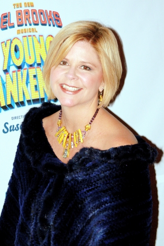 Susan Graham at 'Young Frankenstein' Opening Night Arrivals
