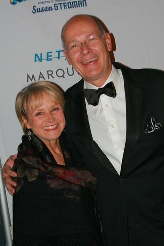 Andrea Joyce and Harry Smith