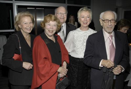 Sylvia Steiner, Anne Jackson, Judith Kallman and Eli Wallach