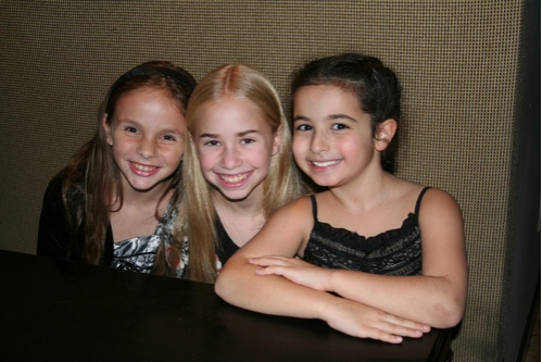 Roni Gaggiano, Leah Greenhaus and Sophie Ruden