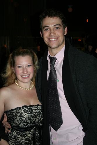Allison Couture (Ensemble) and Patrick Cummings (Warren Sheffield) Photo