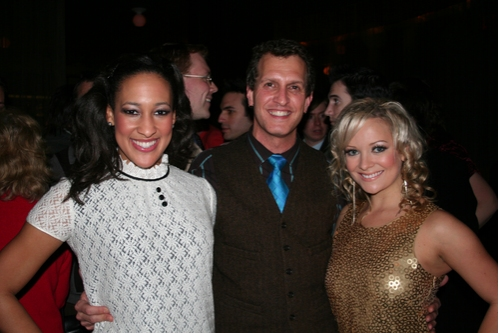 Alicia Charles (Ensemble), Thom Heyer (Costume Designer) and Ashley Arcement (Ensemble)