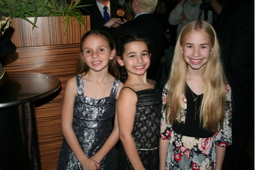 Roni Gaggiano (Agnes Smith), Sophie Ruden (Tootie Smith) and Leah Greenhaus (Understudy Agnes)