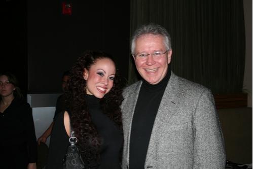 Jessica Bircann (Ensemble) and Ed Romanoff (Clinton Badger)