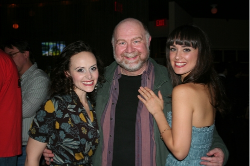 Julia Osborne (Rose Smith), JB Adams (Grandpa Prophater) and Brynn O'Malley (Esther Smith) at 'Meet Me in St. Louis' Opening Night at Paper Mill
