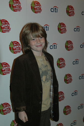 Jackson Pace at 'The Grinch' Opening Night
