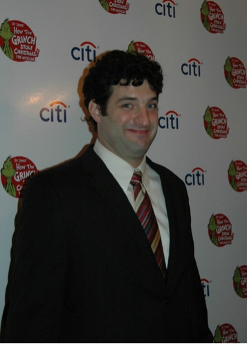 Matt August(Director) at 'The Grinch' Opening Night