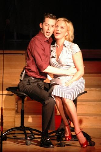 Kelly Sullivan and Josh Grisetti