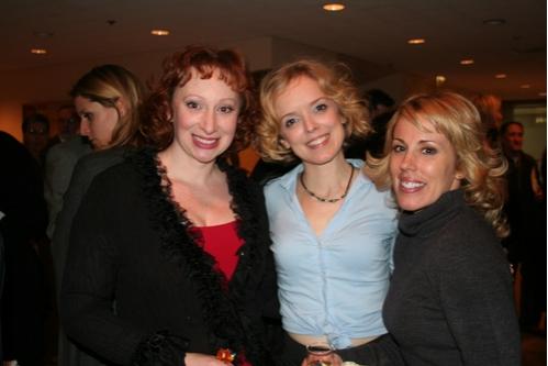 Lorinda Lisitza, Nancy Anderson and Amy Goldberger