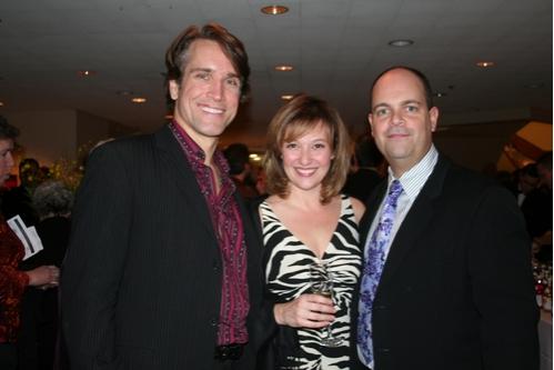 Mike McGowan, Laura Marie Duncan and Brad Oscar  Photo