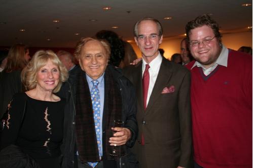 Susan Pletcher, Joseph Stein, Richard Pletcher and Jeremy Littlejohn