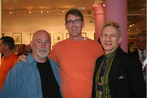 Wayne Snellen, Dick Scanlan and Rob Hugh Rosen