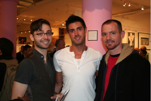 Andy Jordan, TJ Greenway and Sam Hill