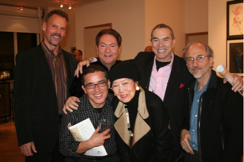Keith Battew, Jean-Claude Baker, Charles Leslie, Jules Pfeiffer, Patrick Pacheco and Willa Kim