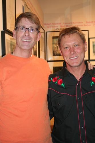 Host Dick Scanlan and Robert Lafosse