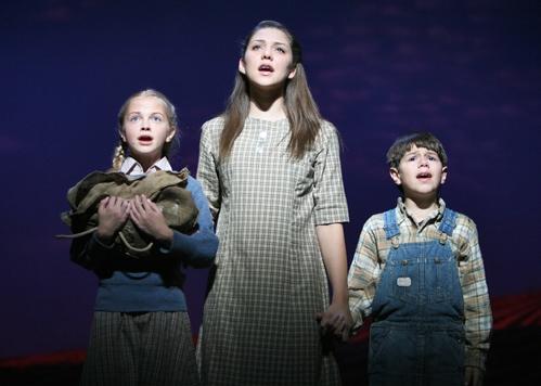 Nadine Jacobson (Brat), Andrea Ross (Swallow) and Austin J. Zambito-Valente (Poor Baby)