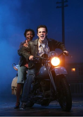 Carole Denise Jones as Candy and Matt Skrincosky as Amos Photo