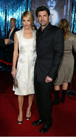 Patrick Dempsey and wife Jill Fink