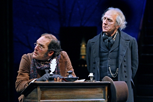 Michael Booth and Raye Birk at 'A Christmas Carol' at The Guthrie