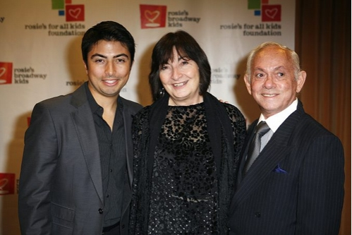 Shaun Taylor Corbett, his mother and Raphael Sanchez