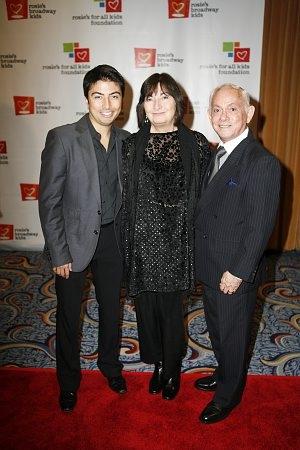 Shaun Taylor Corbett, his mother and Raphael Sanchez