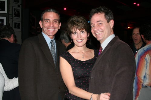 Scott Mauro, Lucie Arnaz and Mark Sendroff