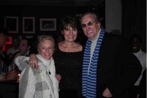 Sandy Aiello, Lucie Arnaz and Danny Aiello