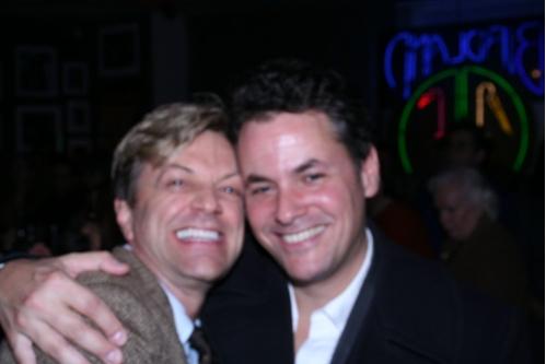 Jim Caruso and Adam Guettel Photo