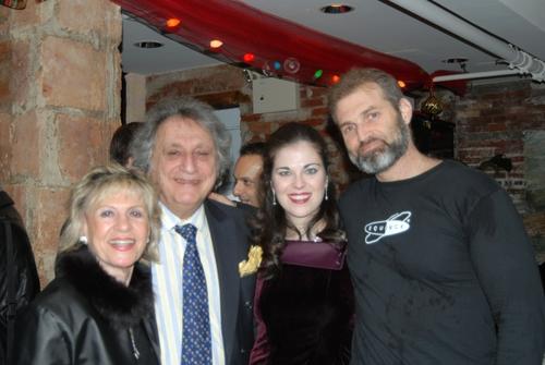 Lillian Wolf and William Wolf, Sarah Jane McMahon and Marc Kudisch