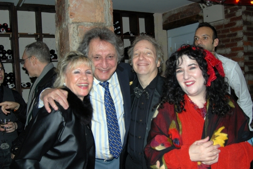 Lillian Wolf and William Wolf, Scott Siegel and Barbara Siegel