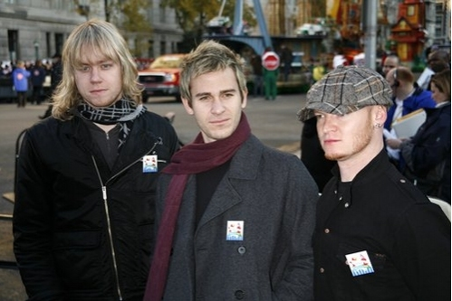 Lifehouse: Bryce Soderderg, Jason Wade and Rick Woolstenhylme