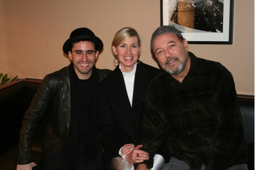 John Lloyd Young, Luba Mason and Ruben Blades