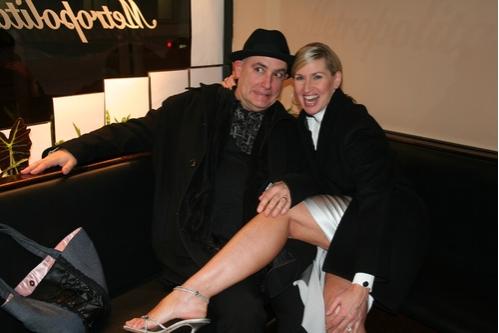 Musical Director Ed Alstrom and Luba Mason