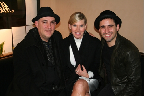 Ed Alstrom Luba Mason and John Lloyd Young