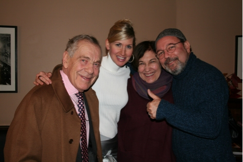 Morley Safer, Luba Mason, Jane Safer and Ruben Blades