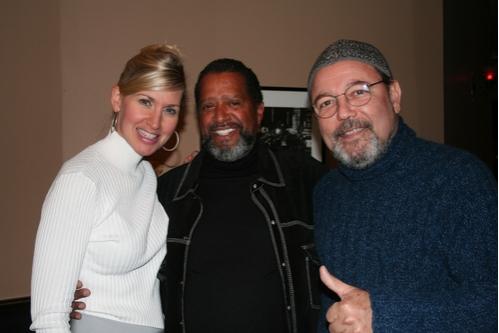 Luba Mason, C. Vaughn Hazell and Ruben Blades Photo