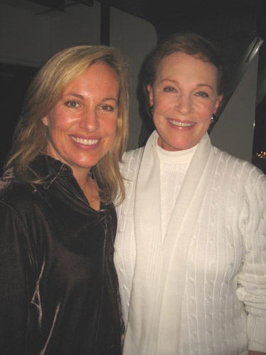 Authors Emma Walton Hamilton and Julie Andrews