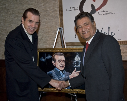 Chazz Palminteri and Herb Wetson