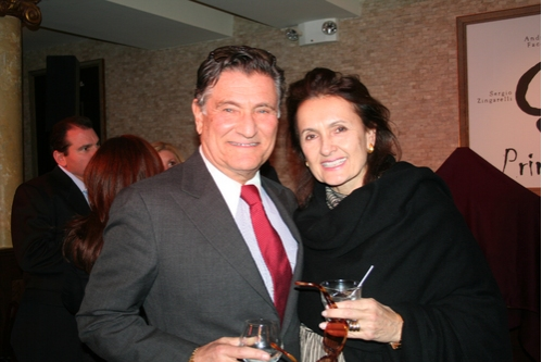 Herb Wetson and Olga Neulist