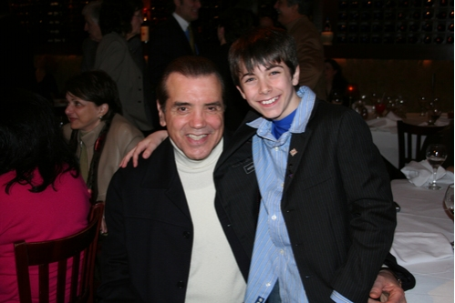 Chazz Palminteri and Henry Hodges  Photo