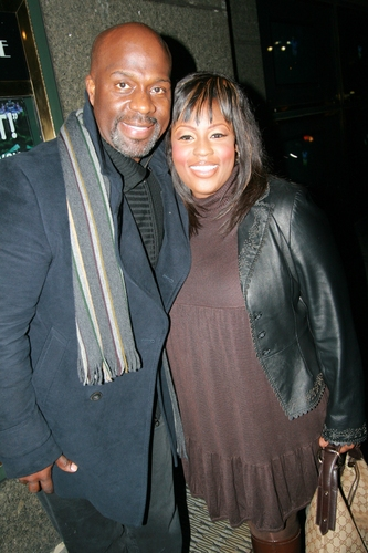 LaKisha Jones and Bebe Winans