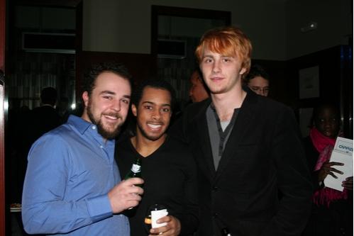 Simon Trumble (Jose), Jamaal-Clark Turpin and Jordan Feltner