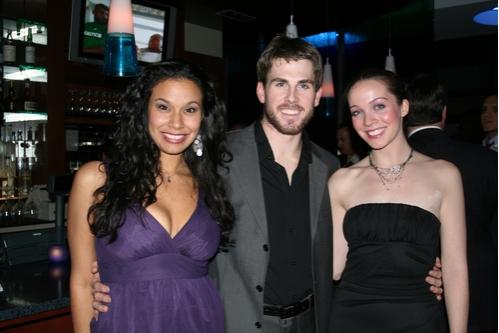 Denise Estrada (Maria), Derek Hanson (Anselmo/Horse) and Patricia Noonan (Antonia)