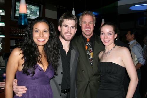 Denise Estrada, Derek Hanson. Luke Yankee and Patricia Noonan
