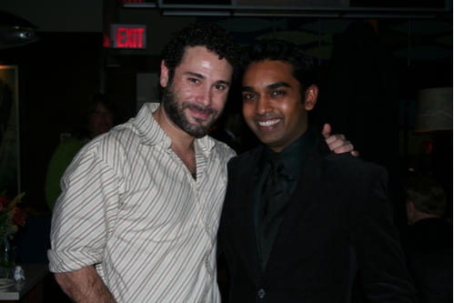 Richard Todd Adams (The Duke/Dr. Carrasco) and Devanand Janki