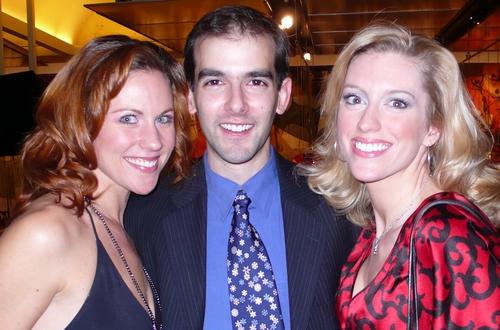 l-r: Kristen Gaetz, Marc Bruni and Jacqueline Bayne
