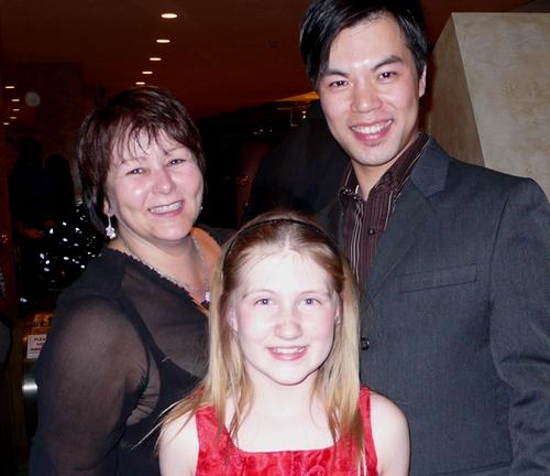 l-r: Paula Wolfson, Cassidy Swanston and Alex Hsu