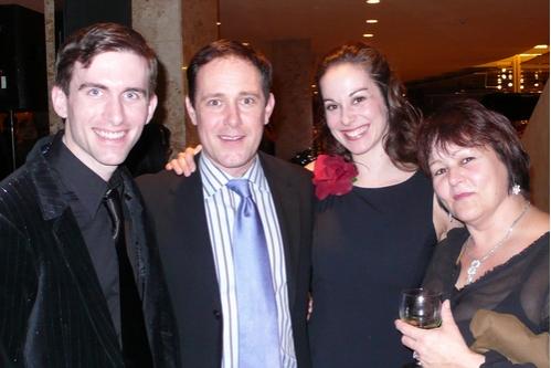 l-r: Matthew J. Kilgore, Rob Torr, Stephanie Graham and Paula Wolfson Photo